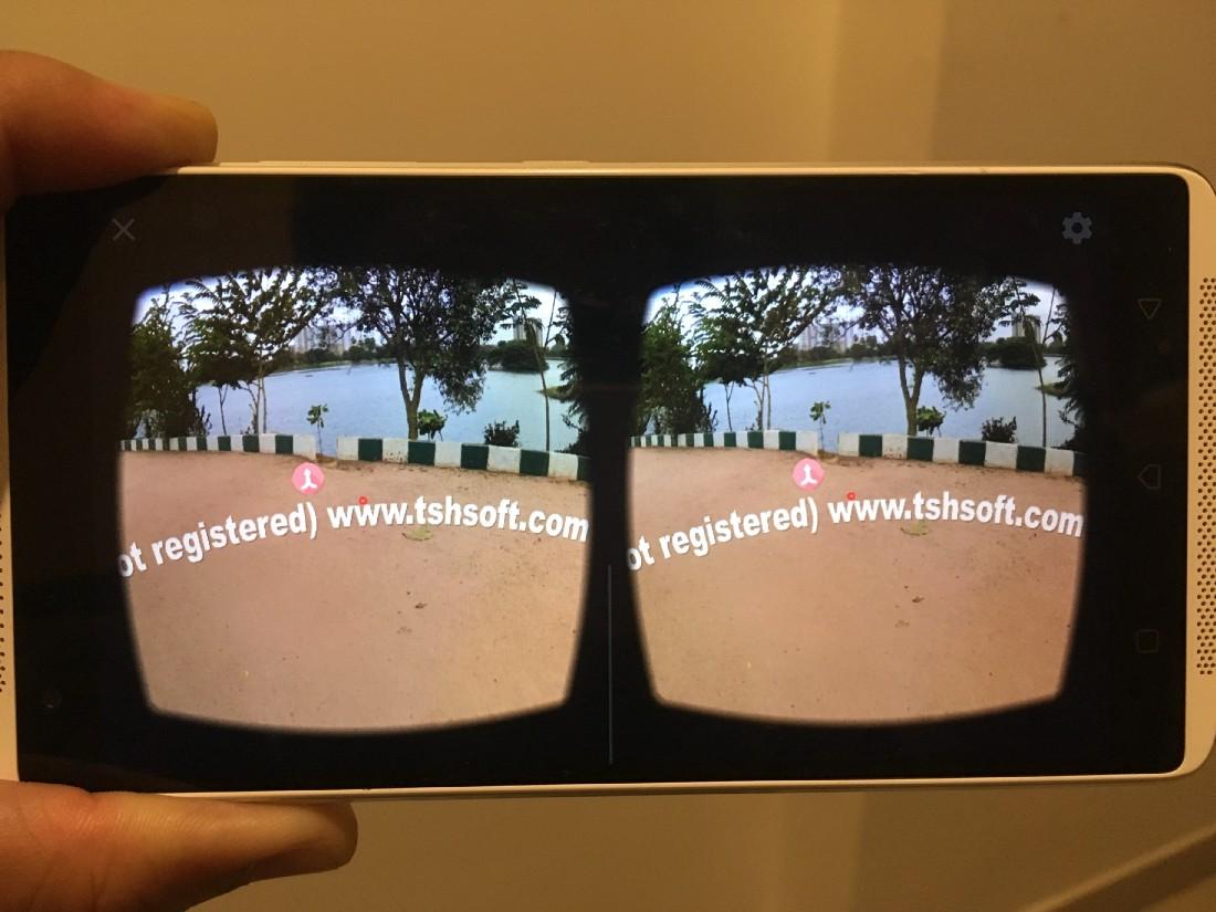 Virtual Reality - A Frame