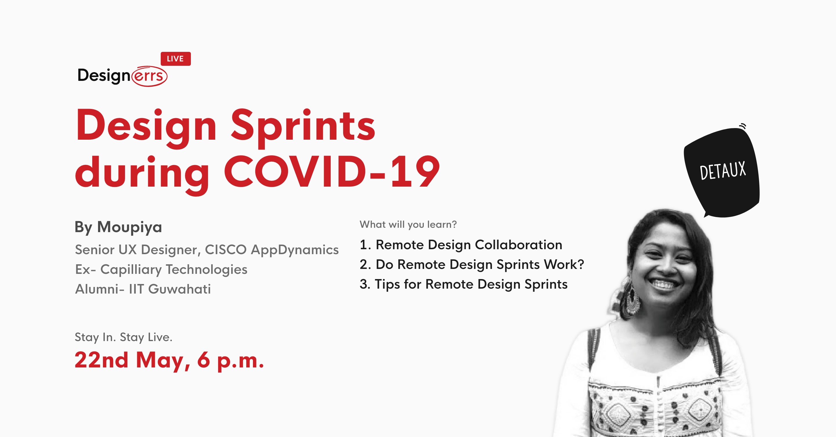 Design Sprint during COVID-19 | DETAUX